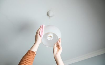 Helpful Tips for Cleaning Your Light Fixtures