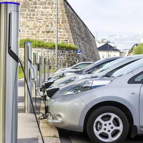 Comercial Electric Car Charging