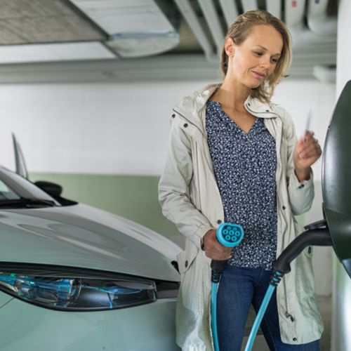 Residential Electric Car Charging